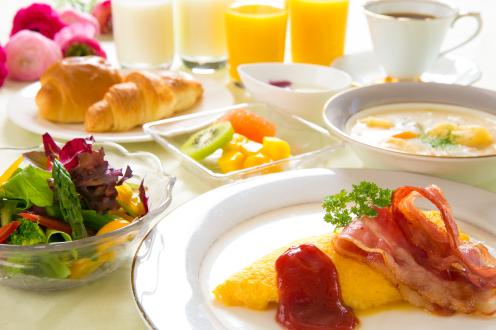 選べる朝食がおすすめ